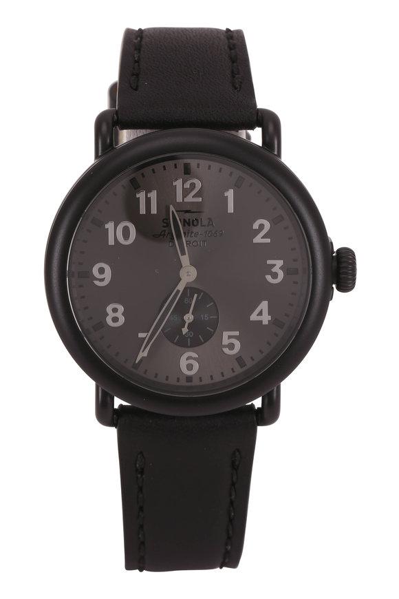 Shinola Runwell Gray Automatic Watch, 41mm