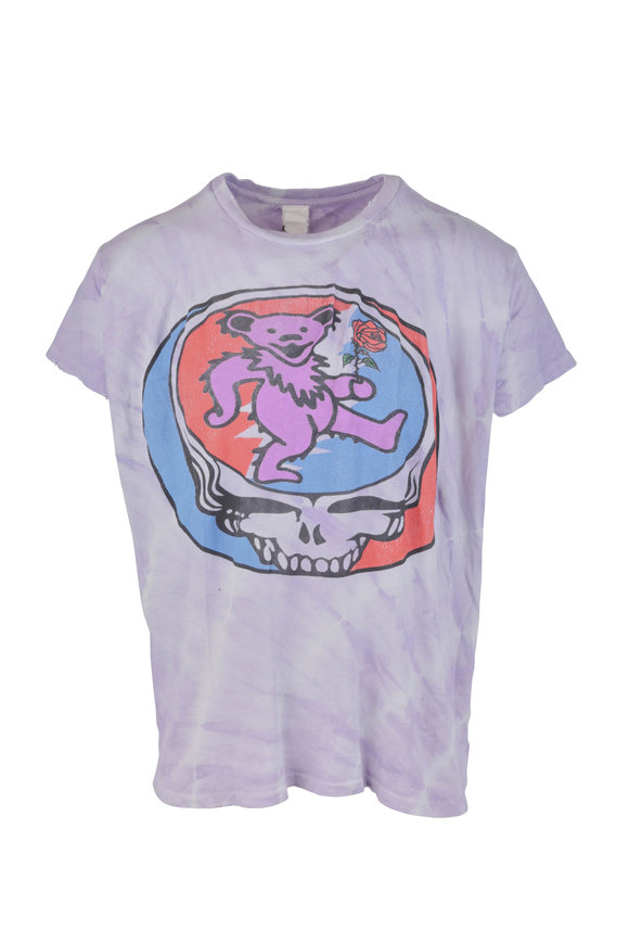 Madeworn Grateful Dead Purple Tye Dye T-Shirt