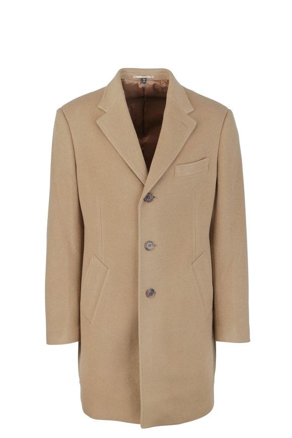 Atelier Munro Camel Wool Overcoat