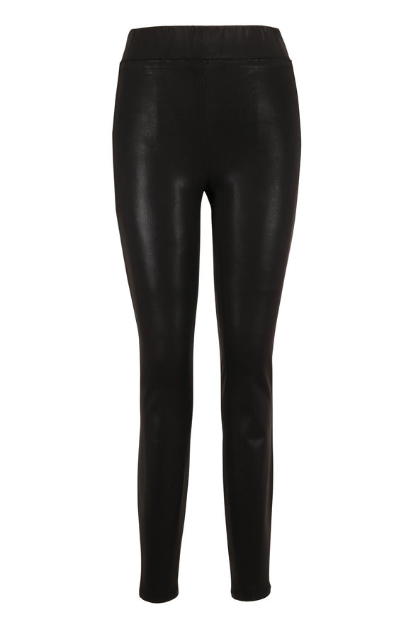 L'Agence Rochelle Black Leather-Look Legging
