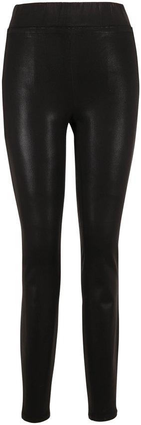 L'Agence Rochelle Black Leather-Look Legging
