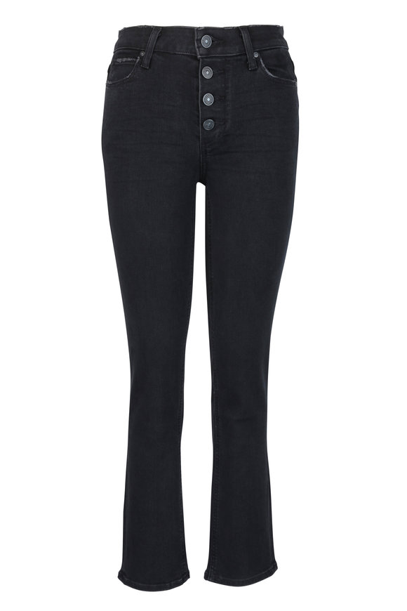 PAIGE Hoxton Black High Rise Jean