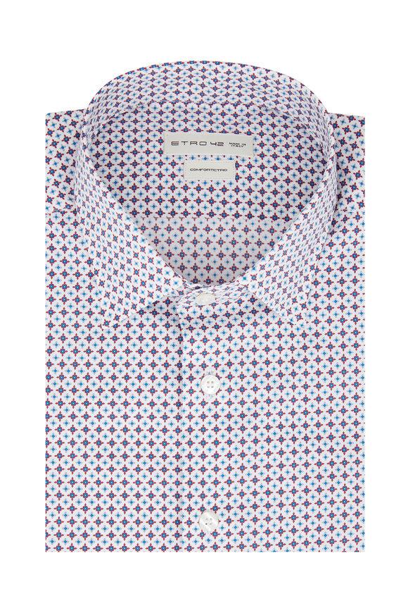 Etro Geometric Printed Sport Shirt