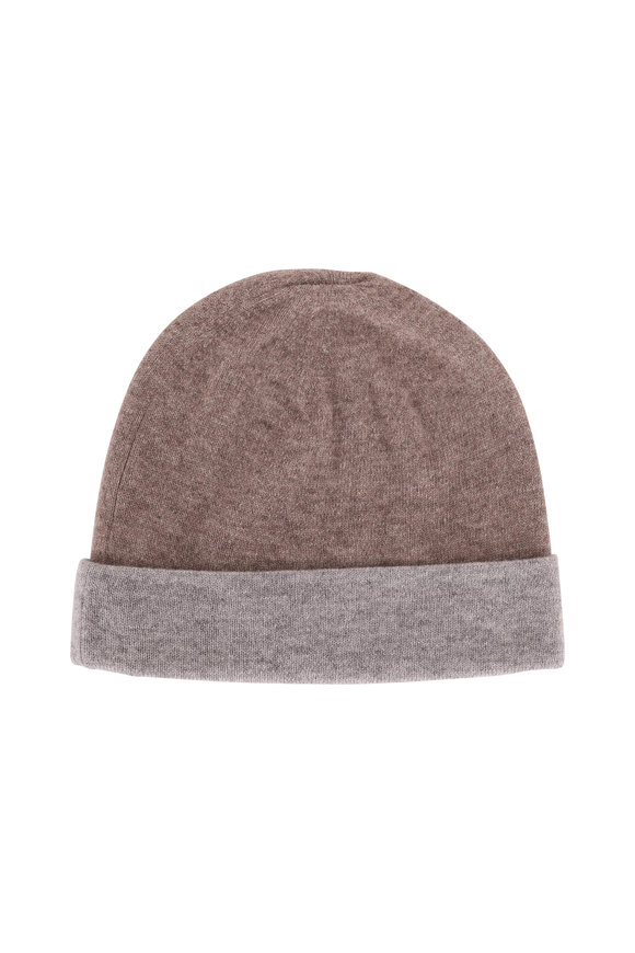 Kinross Suede & Sterling Cashmere Reversible Hat