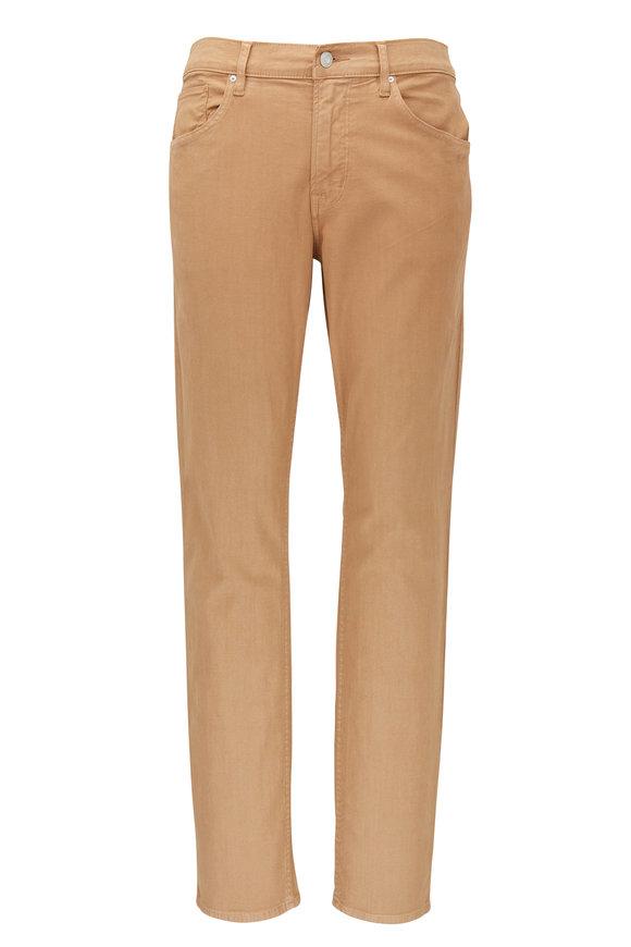Hudson Clothing Blake Tan Slim Straight Jean