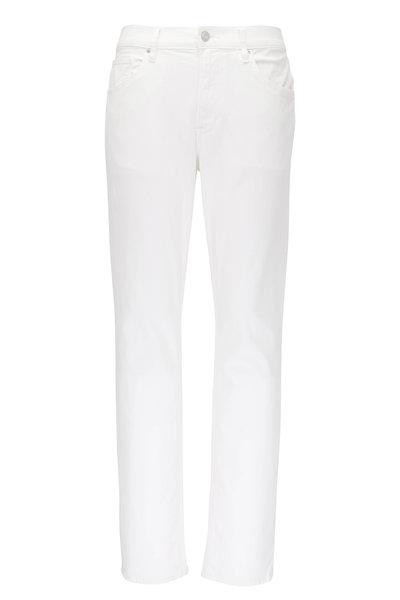Hudson Clothing - Blake Ivory Slim Straight Jean