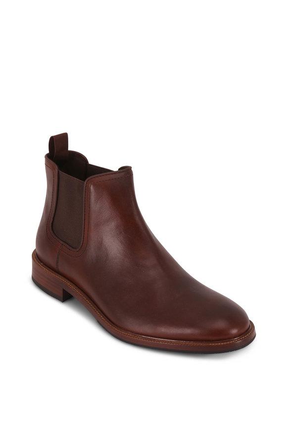 Trask Leo Brandy Leather Boot