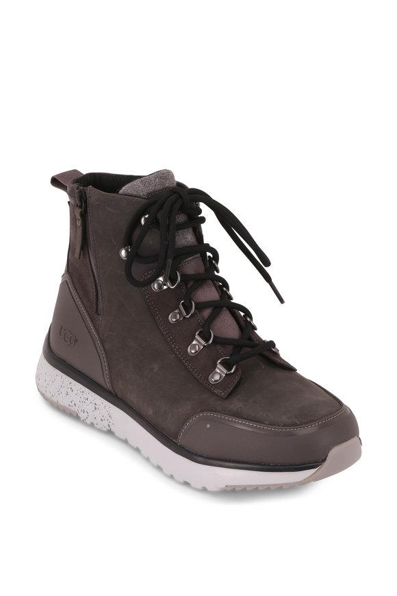 Ugg Caulder Dark Gray Weatherproof Boot