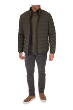 UBR - Sonic Night Olive Quilted Down Jacket