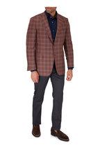 PT Torino - Charcoal Gray Wool Blend Five Pocket Pant