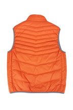 Brunello Cucinelli - Orange Nylon Down Puffer Vest