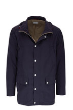 Brunello Cucinelli - Navy Lightweight Water Repellent Jacket