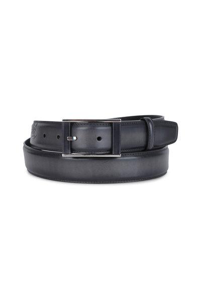 Berluti - Scritto Black Leather Belt