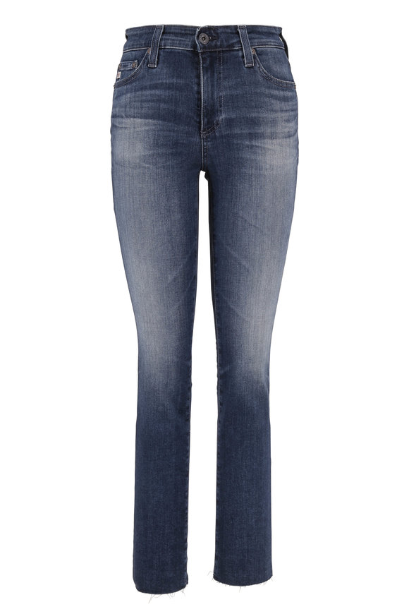 AG - Adriano Goldschmied Mari 12 Year Idiosyncratic High-Rise Straight Jean