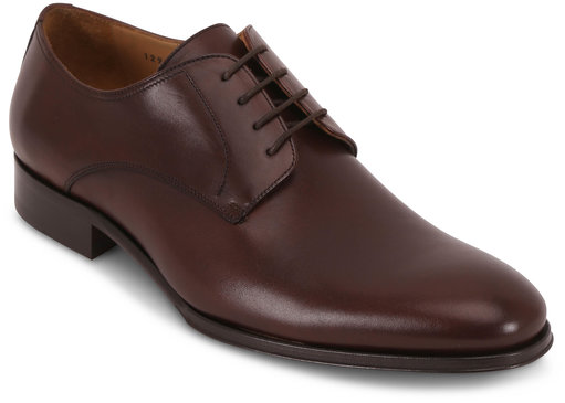 To Boot New York Declan Cacao Dark Brown Leather Derby Shoe