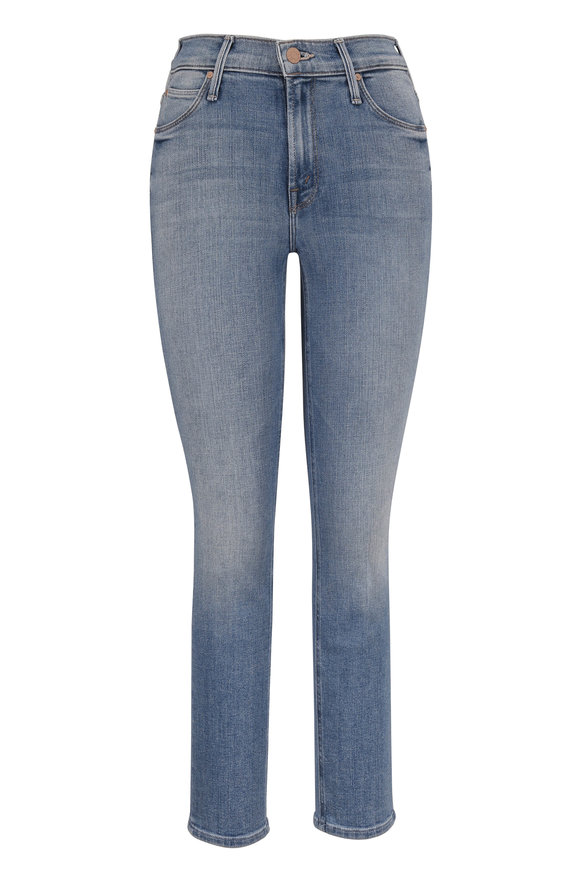 Mother Denim Dazzler Camp Expert Mid-Rise Ankle Jean