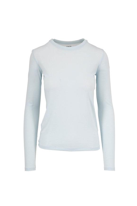 Vince Skylark Essential Long Sleeve Crewneck T-Shirt