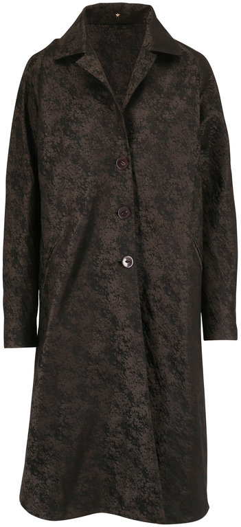 Peter Cohen Buster Forest Green Textured Coat