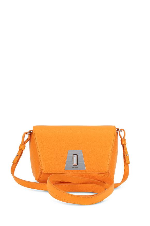 Akris Anouk Sunrise Yellow Leather Mini Daybag