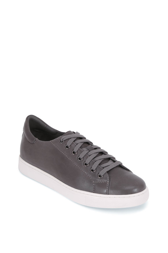 Trask Alder Gray Sheepskin Leather Sneaker