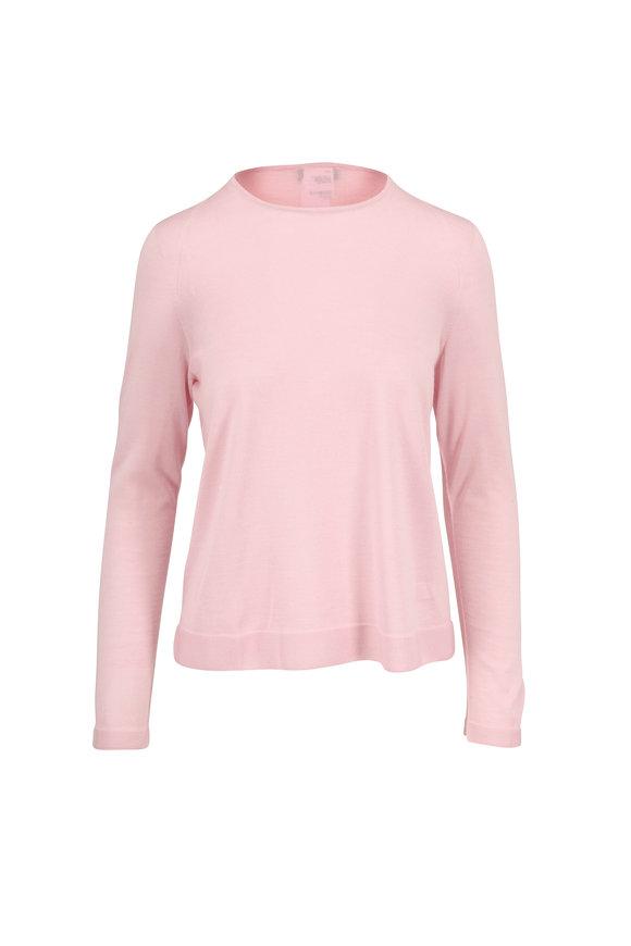Akris Blush Cashmere & Silk Knit Sweater