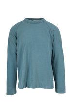 James Perse - Sprite Vintage Cotton Crewneck Sweatshirt