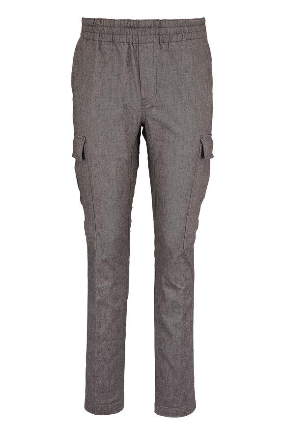 J Brand Fenix Gray Melange Cargo Pant