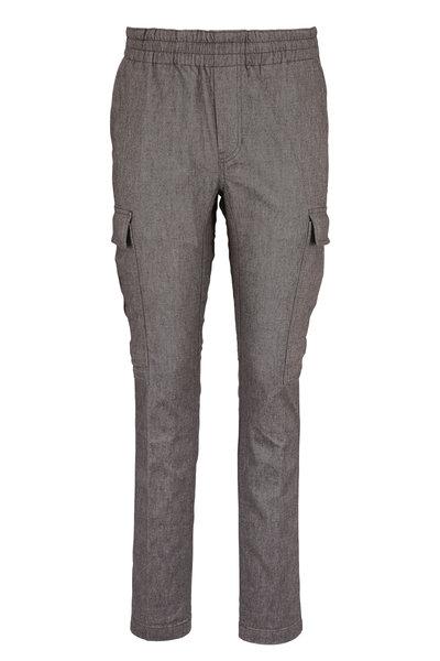 J Brand - Fenix Gray Melange Cargo Pant