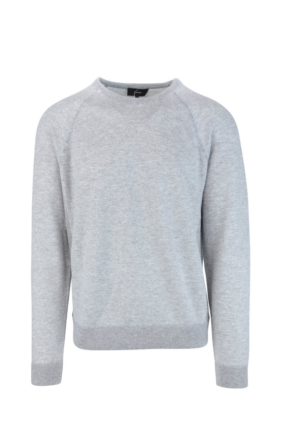 Vince Gray Wool & Cashmere Sweater