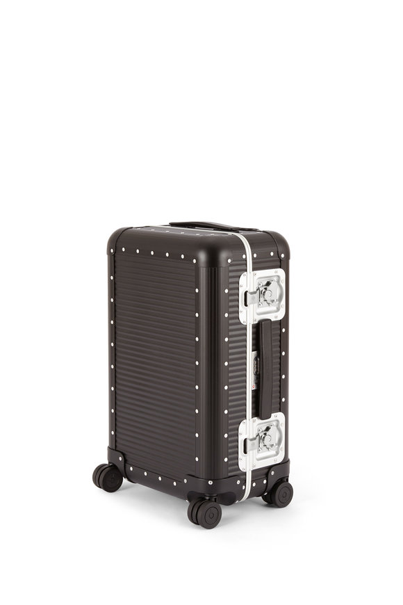 FPM Luggage Black Bank Spinner 55