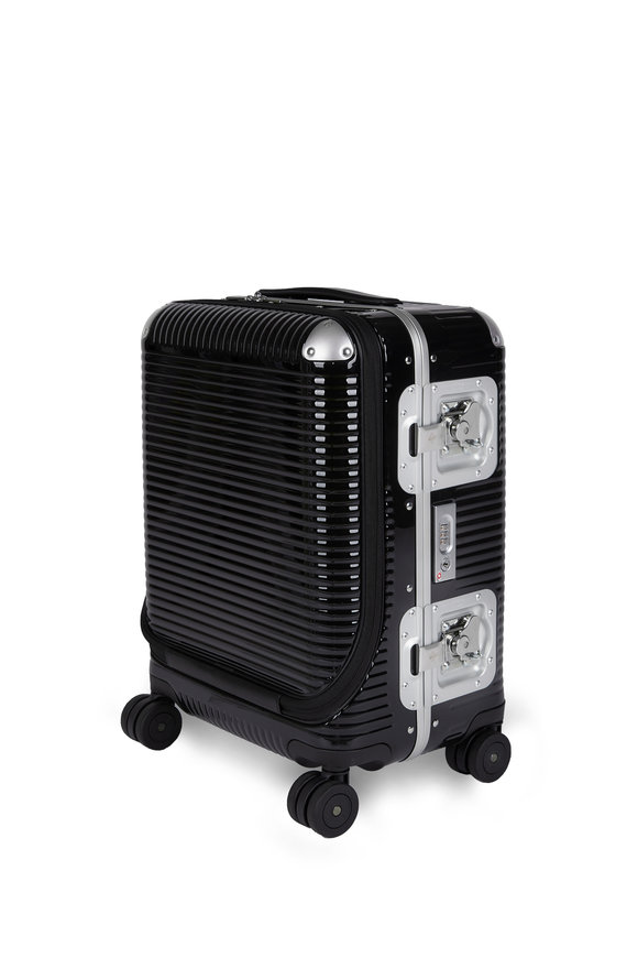 FPM Luggage Black Bank Light Spinner 53 Front Pocket