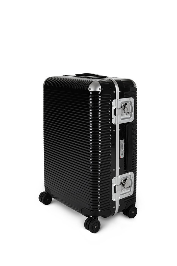 FPM Luggage Black Bank Light Spinner 76