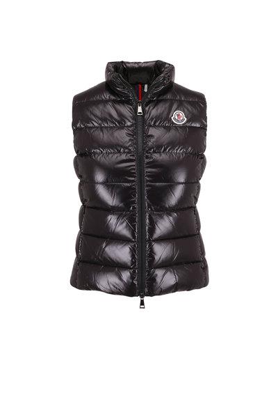 Moncler - Ghany Black Puffer Vest