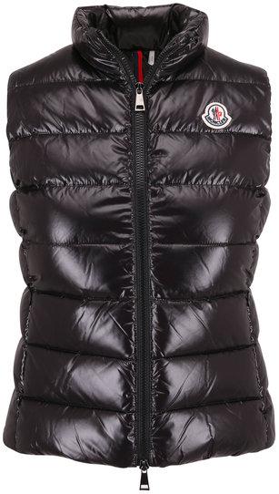 Moncler Ghany Black Puffer Vest
