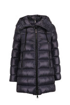 Moncler - Suyen Navy Hooded Down Coat