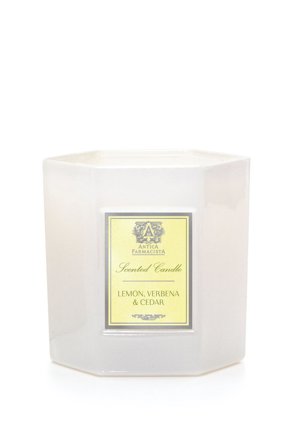 Antica Farmacista Lemon, Verbena & Cedar Soy Candle