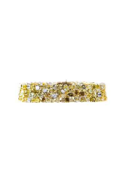 Oscar Heyman - Platinum & Gold Diamond Bracelet