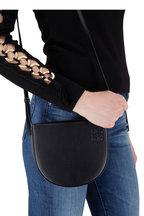 Loewe - Heel Black Leather Mini Crossbody Bag
