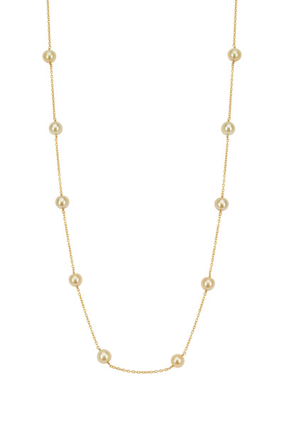 Yossi Harari - Roxanne Yellow Gold Wrap Necklace