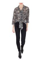 Saint Laurent - Susan Black Aged Leather Lace-Up Bootie, 60mm