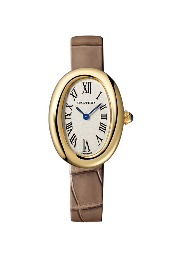 Cartier Yellow Gold Baignoire Small Watch