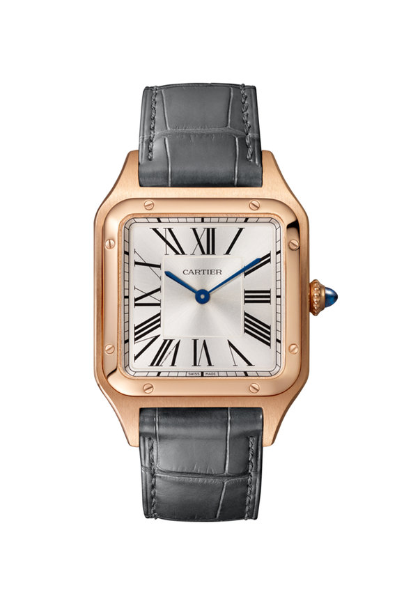 Cartier Pink Gold Santos-Dumont Watch