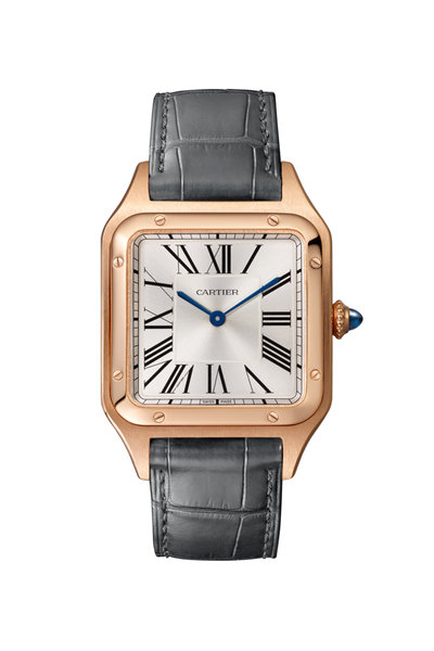 Cartier - Pink Gold Santos-Dumont Watch