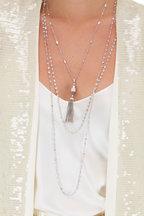 Maria Canale - Tassel Pendant Necklace