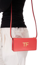 Tom Ford - TF Roche Silk Leather Mini Crossbody