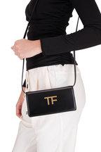 Tom Ford - TF Black Leather Mini Crossbody