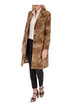 Nili Lotan - Rosalin Golden Baby Leopard Print Coat