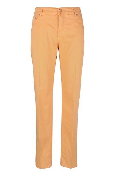 Kiton - Peach Five Pocket Pant