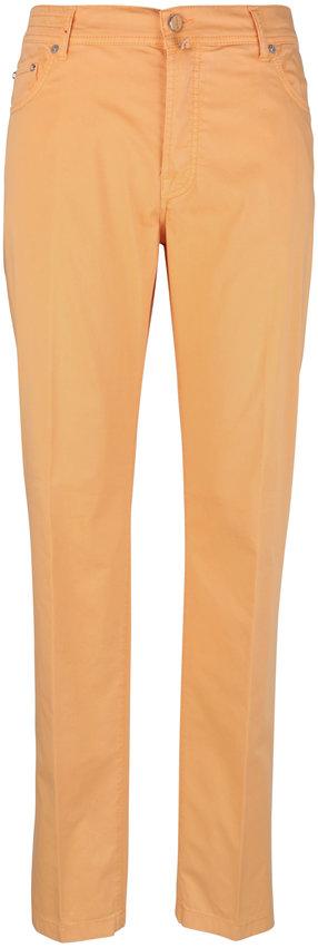 Kiton Peach Five Pocket Pant