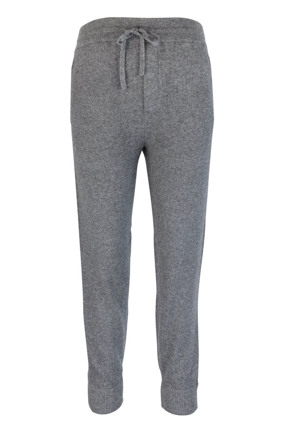 Vince Gray Wool & Cashmere Jogger